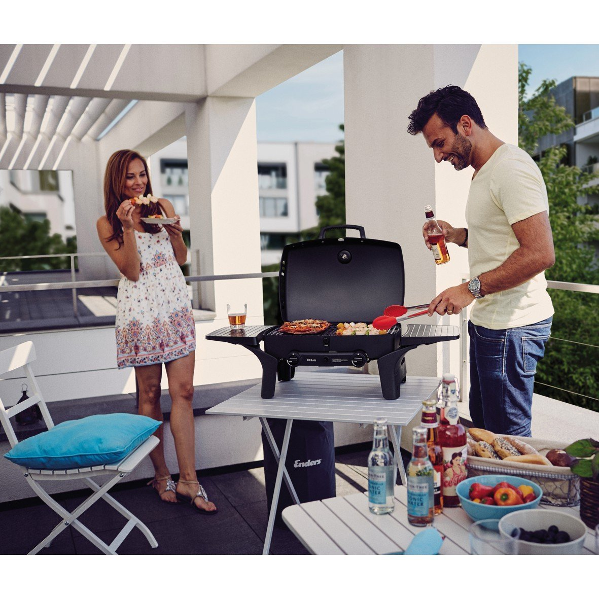 elektrogrill f r balkon besser grillen gasgrill. Black Bedroom Furniture Sets. Home Design Ideas